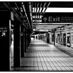 new york 8 underground 2010 gerahmt 52x42cm 1/15